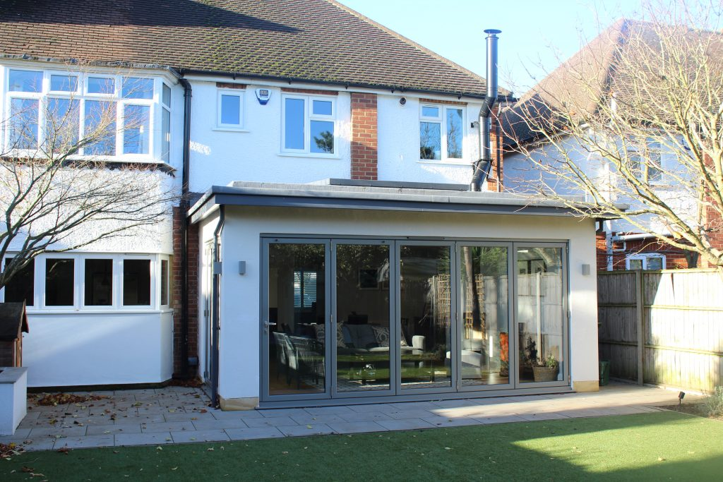 Hinchley Wood rear extension